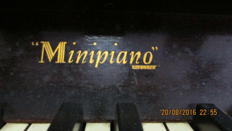 Minipiano piano for rent