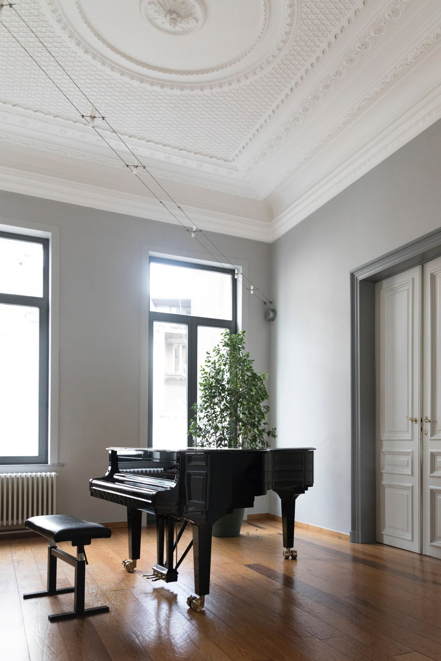 Piano cleaning and tuning